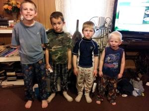 Matthew, Rory, Brennen, & Aidan my nephews