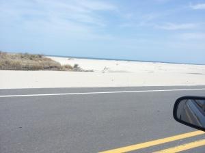 The white dunes at Rodanthe, NC