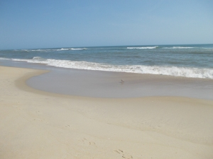 The beach at Rodanthe