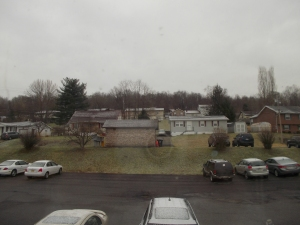This is how things looked when I arrived in Morgantown.