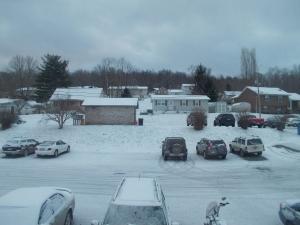 New snow starting